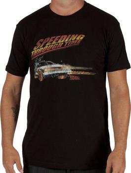 Speeding Back To The Future Shirt
