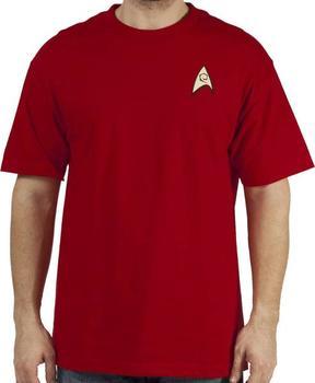Star Trek Engineering Uniform T-Shirt