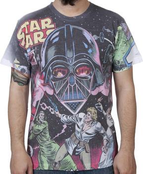 Star Wars Comic Sublimation Shirt