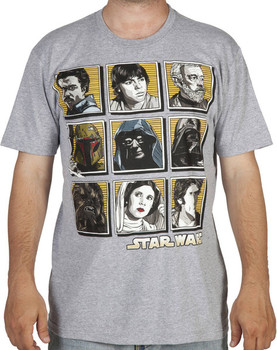 Star Wars Faces Shirt