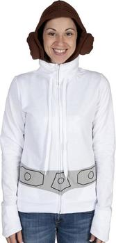 Star Wars Princess Leia Costume Hoodie