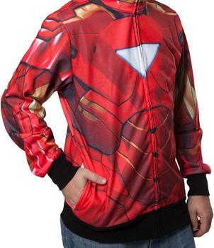 Sublimated Iron Man Costume Hoodie