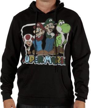 Super Mario Hooded Sweatshirt