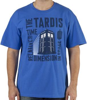 The Tardis Doctor Who Shirt