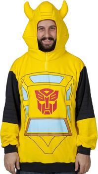 Transformers Bumblebee Costume Hoodie