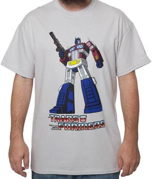 Transformers Optimus Prime Shirt