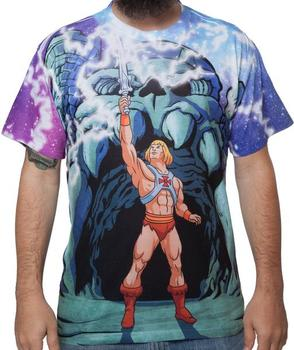 Transforming He-Man Sublimation Shirt