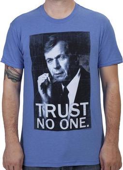 Trust No One X-Files Shirt