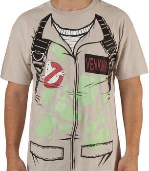 Venkman Uniform Ghostbusters T-Shirt