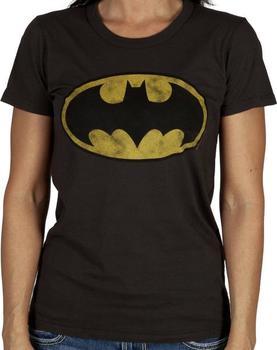 Womens Batman Shirt by Junk Food