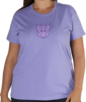 Womens Decepticon Transformers T-Shirt