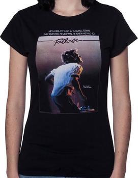 Womens Footloose Poster T-Shirt