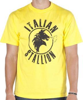 Yellow Italian Stallion Rocky T-Shirt