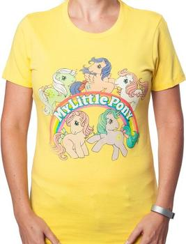 Yellow My Little Pony Shirt