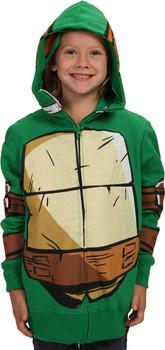 Youth Michelangelo Costume Hoodie