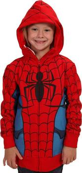 Youth Zip-Up Spider-Man Costume Hoodie