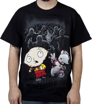 Zombie Apocalypse Family Guy Shirt