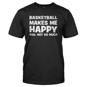 Basketball Makes Me Happy