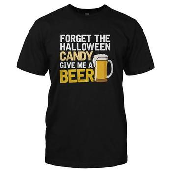 Forget the Candy. Give Me A Beer.