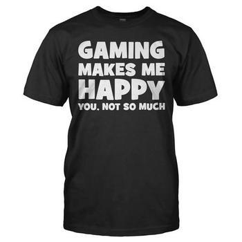 Gaming Makes Me Happy