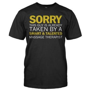 Sorry Guy Taken By Talented Massage Therapist