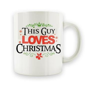 This Guy Loves Christmas - 15oz Mug