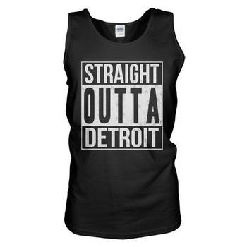 Straight Outta Detroit Tank Top