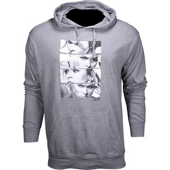 UFC Ronda Rousey Stacked Pullover Hoodie