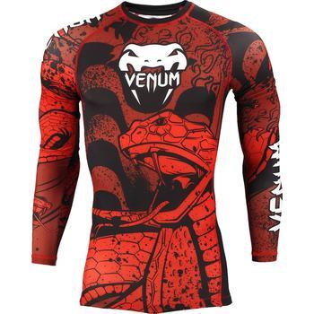 Venum Crimson Viper Long Sleeve Rashguard