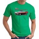 Ford Fairlane 1959 T-Shirt 500 Convertible Kelly Green Tee Shirt