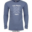 6 Pack Abs Beer Funny Long Sleeve Thermal Shirt