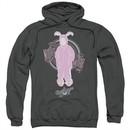 A Christmas Story Hoodie Pink Nightmare Charcoal Sweatshirt Hoody