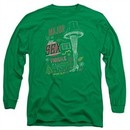 A Christmas Story Long Sleeve Shirt Its A Major Prize Kelly Green Tee T-Shirt