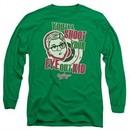 A Christmas Story Long Sleeve Shirt You'll Shoot Your Eye Out Green Tee T-Shirt
