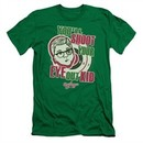 A Christmas Story Slim Fit Shirt You'll Shoot Your Eye Out Green T-Shirt