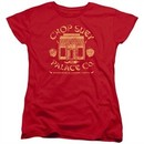 A Christmas Story Womens Shirt Chop Suey Palace Co Red T-Shirt