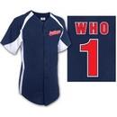 Abbott & Costello Jersey Who Baseball Mens Softball Shirt