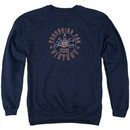 AC Delco Sweatshirt Spark Plugs Victory Adult Navy Blue Sweat Shirt