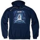 ACDC Hoodie Ball Breaker Navy Sweatshirt Hoody