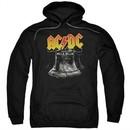 ACDC Hoodie Hell's Bells Black Sweatshirt Hoody