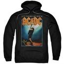 ACDC Hoodie Let There Be Rock Black Sweatshirt Hoody