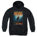 ACDC Kids Hoodie Let There Be Rock Black Youth Hoody