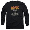 ACDC Long Sleeve Shirt Hell's Bells Black Tee T-Shirt