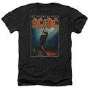 ACDC Shirt Let There Be Rock Heather Black T-Shirt