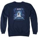 ACDC Sweatshirt Ball Breaker Adult Navy Sweat Shirt