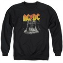 ACDC Sweatshirt Hell's Bells Adult Black Sweat Shirt
