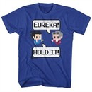Ace Attorney Shirt Eureka Hold It Royal Blue T-Shirt