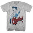 Ace Attorney Shirt Objection Athletic Heather T-Shirt