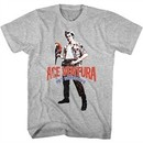 Ace Ventura Shirt Red Black Blue Ace Tee T-Shirt
