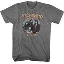 Aerosmith Shirt 1977 US Tour Athletic Heather T-Shirt